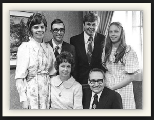 Tom Perry and family
