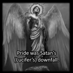 Satan's pride