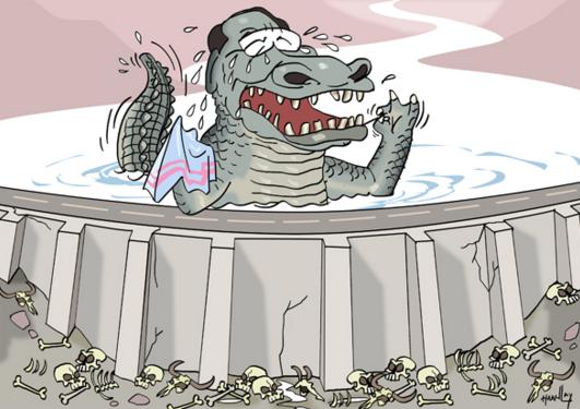 croc tears