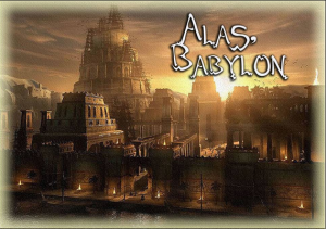 fallen Babylonian kingdom