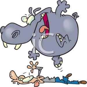 Hippo trampling