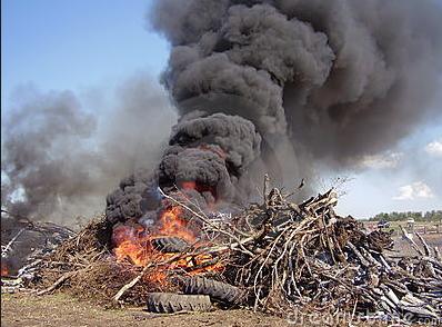 burn-pile