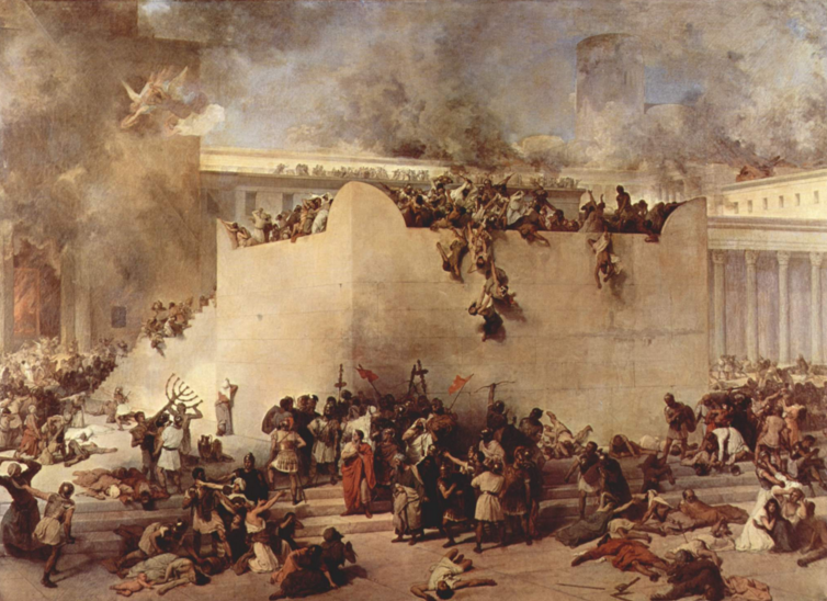 overthrow of Jerusalem