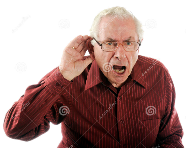 I cant hear