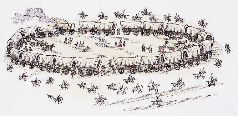 circling wagons