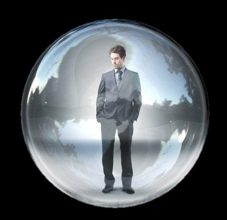"""Sin"" is conceived (imagined) as a sphere (bubble atmosphere surrounding the sinner, pregnant with calamity, which effects him and all others in his family and associates."